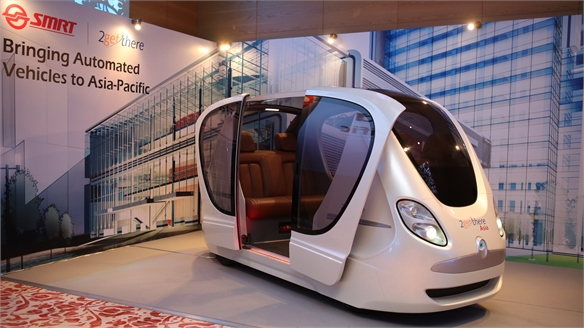 Easy Commute: Singapore's Driverless Cars