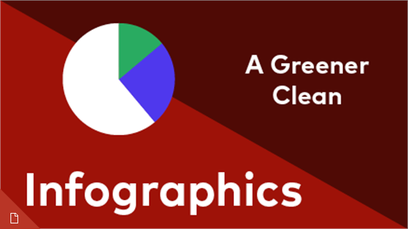 A Greener Clean Infographics