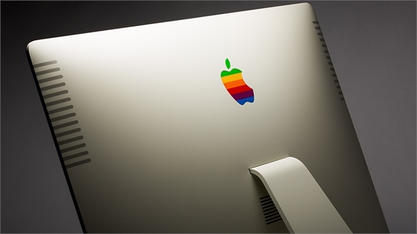 Apple Products Customised in Retro Colourways