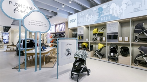 Tech-Enhanced Mamas & Papas Store Targets Millennial Parents