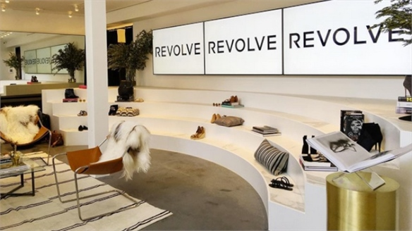 Revolve Clothing's Data-Driven Showroom Experience