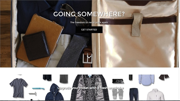 unPack: Ready-Packed Suitcase Service