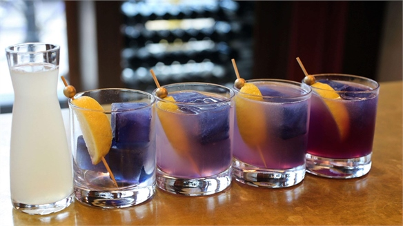 Colour-Changing Cocktails