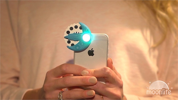 Moonlite: Mobile Phone Bedtime Story Projector