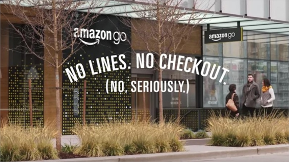 Amazon Go's Checkout-Free Grocery Stores