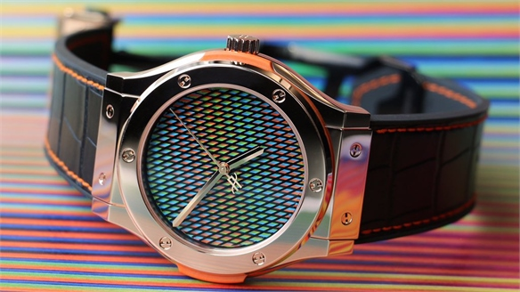 Carlos Cruz-Diez: Colour-Changing Watch