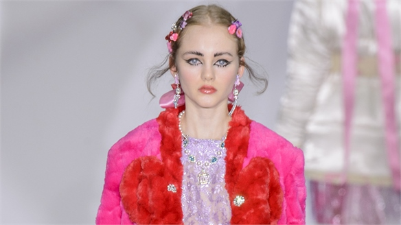 London A/W 16/17 Trend Flash: Pink Clash