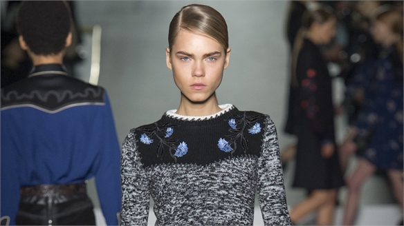 Milan A/W 16/17 Trend Flash: Embellished Knits