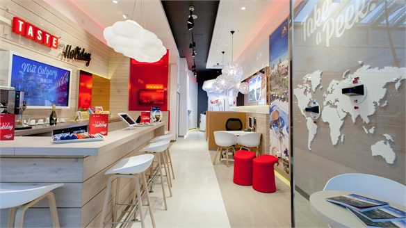 Virgin Holidays Store Lounges Renew Travel Retail