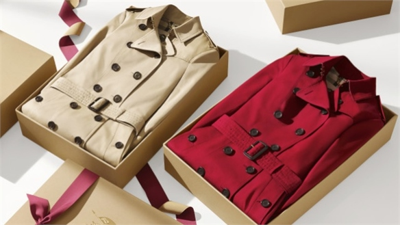 Lunar WeChat: Burberry Taps Chinese New Year, 2016