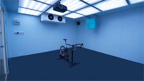Rapha Climate 'Vault' Lets Shoppers Test Cycling Gear