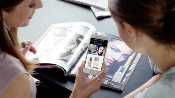 Max Factor x Blippar: Contextual AR Beauty E-Tail