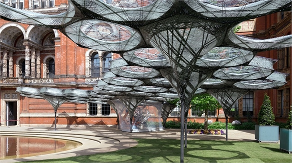 Elytra Filament Pavilion: Biomimicry in Design
