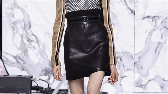 Paris A/W 16/17 Must-Have Item: The Leather Mini
