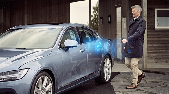 Volvo Smartphone App Replaces Keys