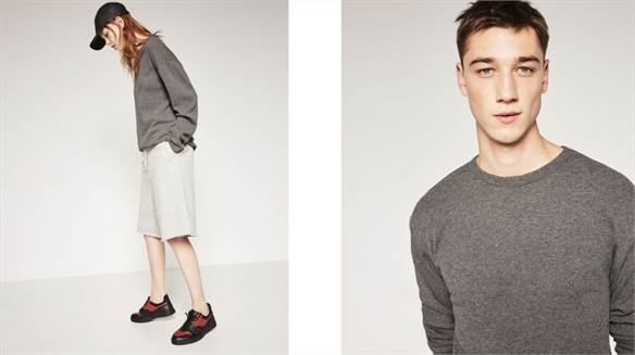 Zara Launches Gender-Neutral E-Tail Category