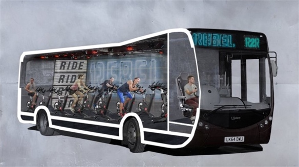 1Rebel's Bus Gym: Commuter Workout