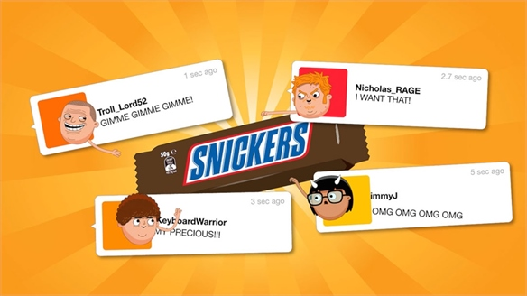 Snickers Ties Pricing to Levels of Online Anger