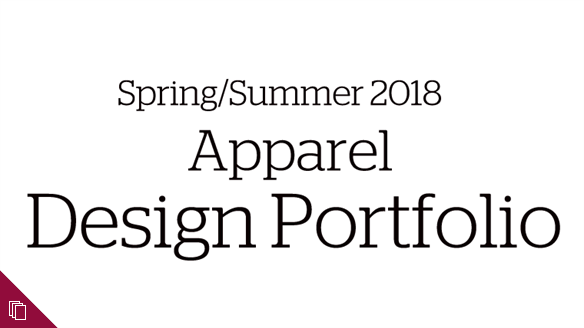 Spring/Summer 2018 Apparel Design Portfolio
