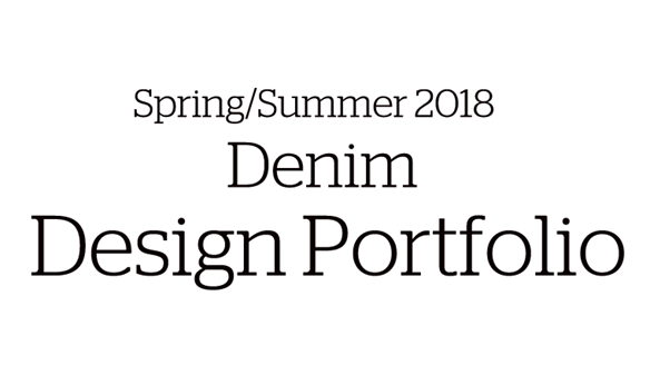 Spring/Summer 2018 Denim Design Portfolio