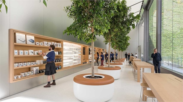 Apple San Fran: Sustainability, Locality, Edutainment