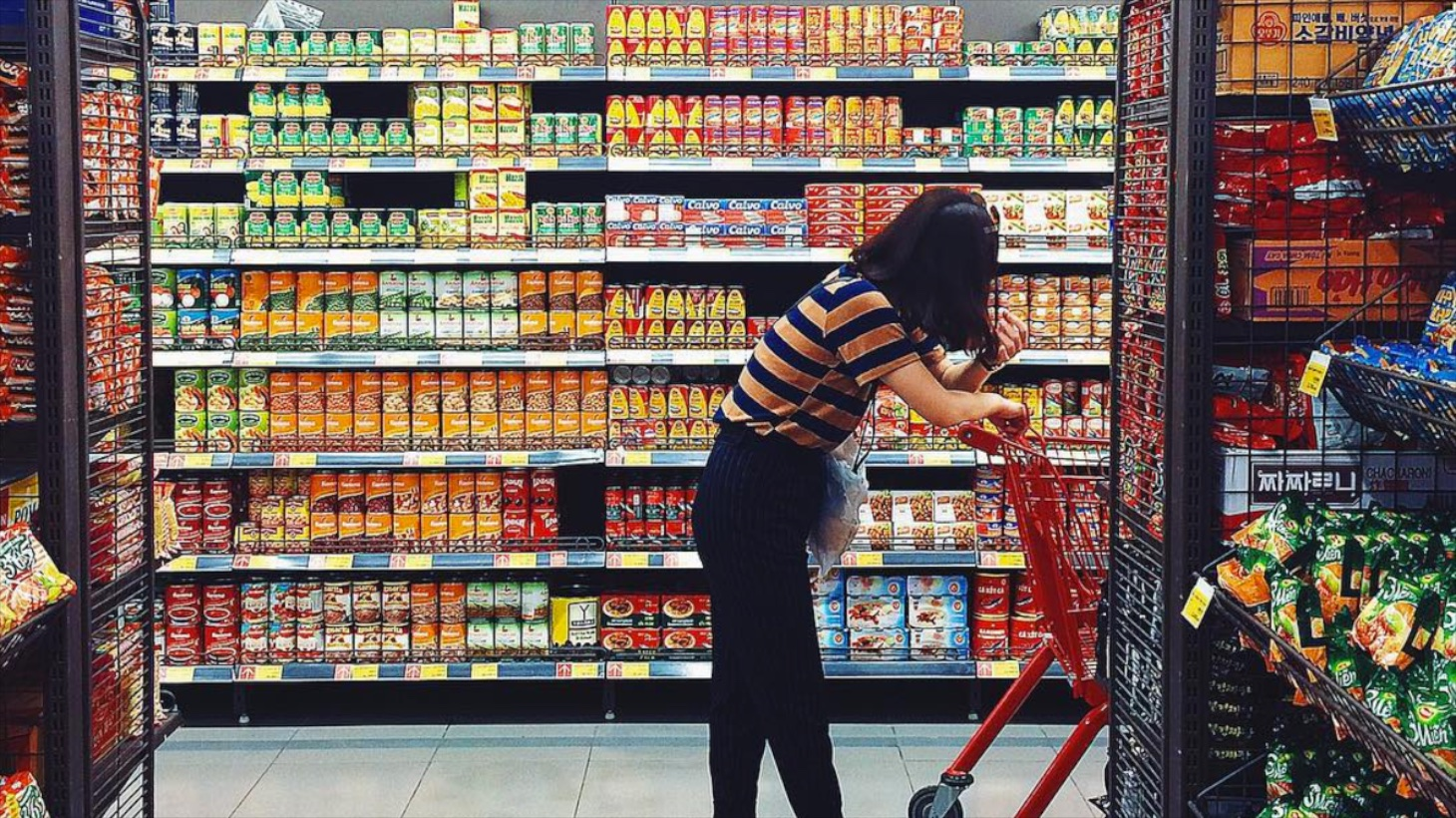 Dual-Channel Shopping at Smart Food Hall, South Korea