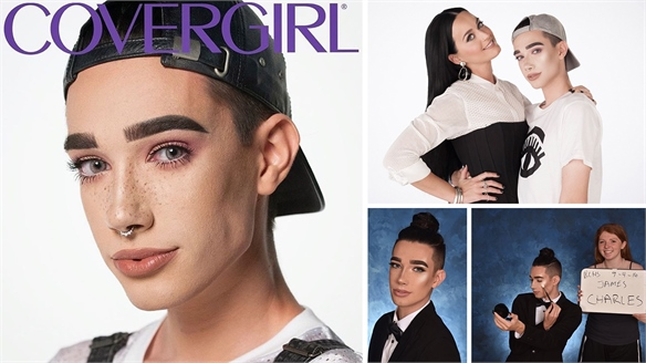 CoverGirl Signs 17-year-old Cover Boy