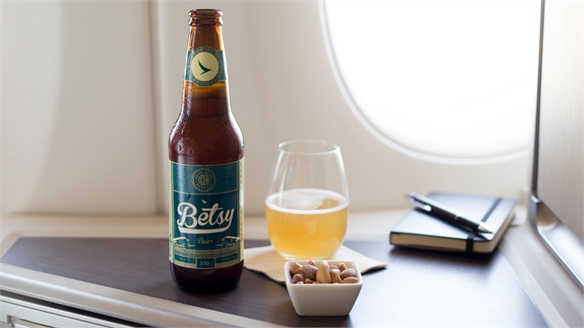 Cathay Pacific's High-Altitude Beer