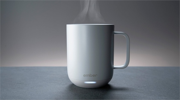 Self-Heating Ceramic Cup