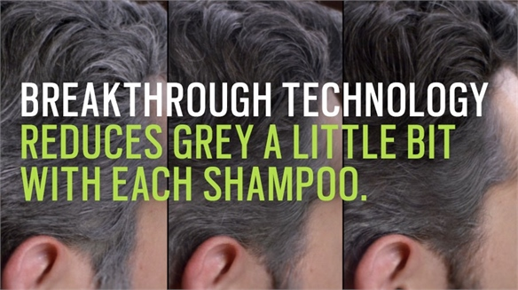 Just For Men's Anti-Ageing Shampoo Turns Back Time