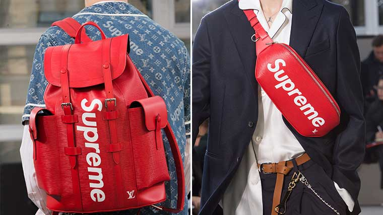 Supreme x Louis Vuitton  Irreverent Luxury   Stylus 25f36149f39