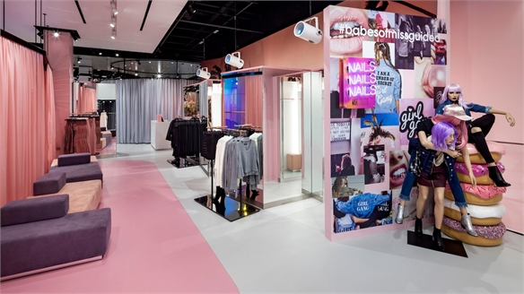 Destination Teen: Missguided's Social Media Mad Flagship