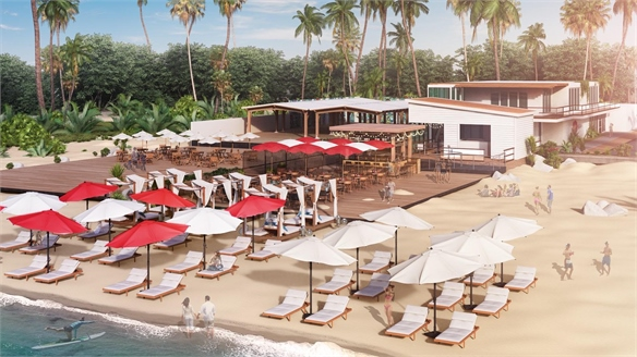 Virgin's Beachside Airport Lounge