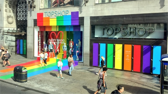 Retailers Capitalise on LGBTQ Pride Celebrations