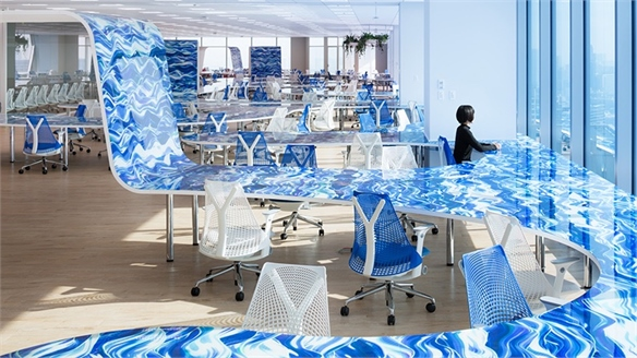Office Design Entices Innovation and Collaboration