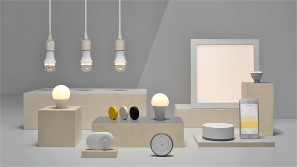 Voice-Controlled Ambience: Ikea Smart Lighting