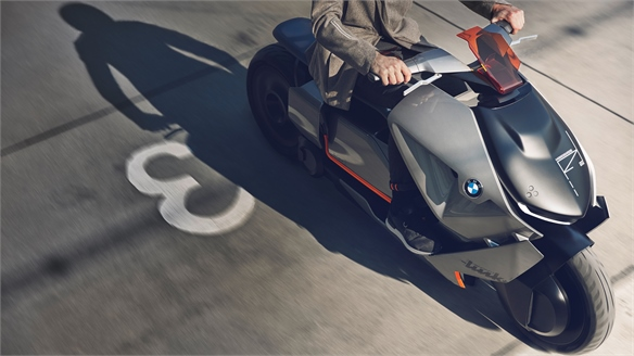 Motorrad Concept Link: Connected Urban Transport