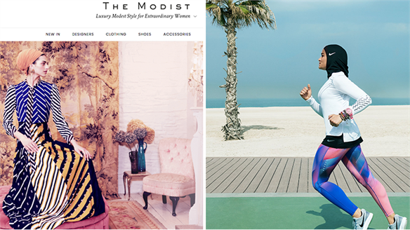 Modest Goes Mainstream: The Modist & Nike