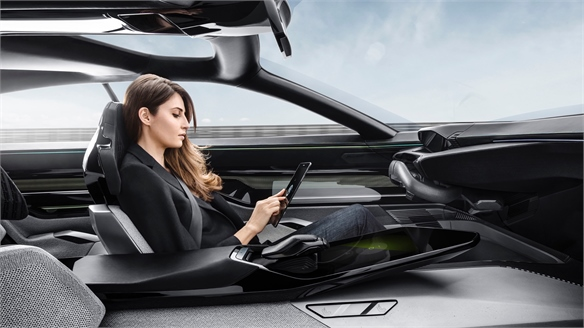 Peugeot Instinct: Lifestyle-Focused Autonomous Car