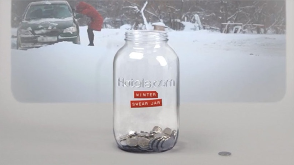 Hotels.com: Winter Swear Jar