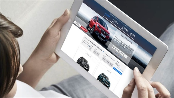 Peugeot Pushes into E-Commerce with Online Order Service