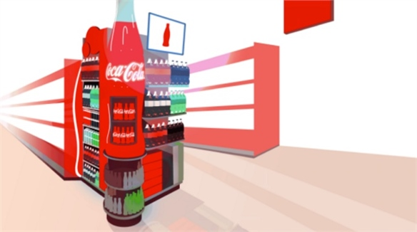 Coke Uses Smartphone Data to Personalise Supermarket Signage