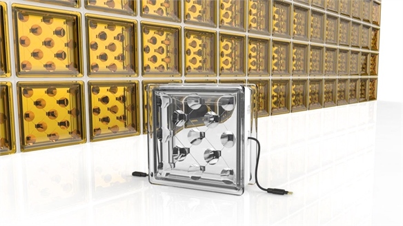Glass Building Blocks Generate Solar Energy