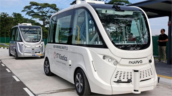 Singapore to Use Self-Driving Buses by 2022