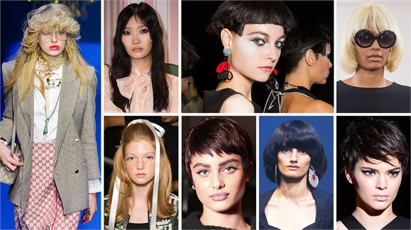 S/S 18 Catwalks: Retro Hair Styling