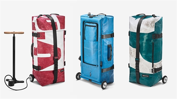 Freitag's Inflatable Suitcase