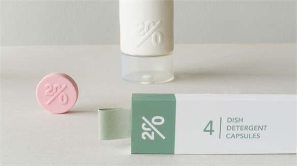 Waterless Products Form Eco Packaging Concept