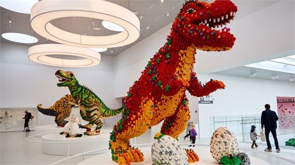 Lego House Experience Hub & Fan Centre Leverages Play