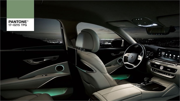 Pantone x Kia: Car-Interior Mood Lighting