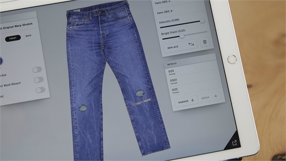 Levi's Customisation Pop-Up Predicts Denim Retail's Future